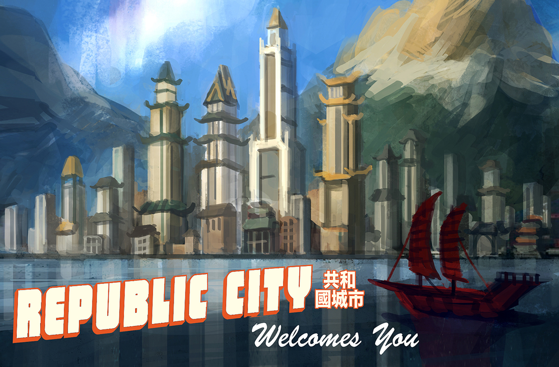Minecraft Republic City