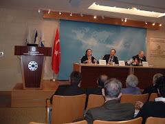 İsrail Dış İşleri Bakanlığı-The Leonard Davis Institute-Sempozyum : 6 Mart 2006, Kudüs/İsrail