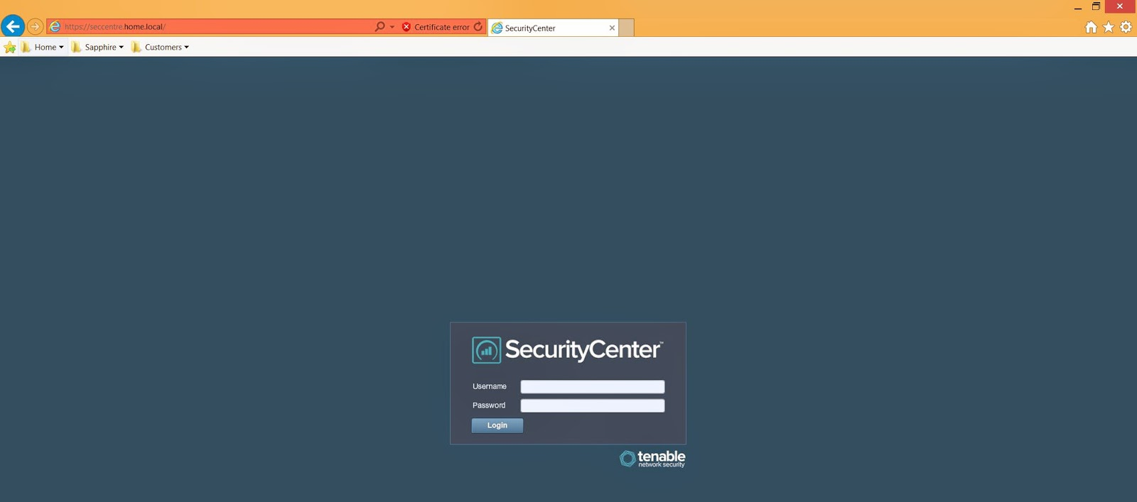 Tenable blog using your own ssl certificate for security centre used to increase the security of the network it would be against best practices to deploy the web administration site with an invalid ssl certificate xflitez Image collections