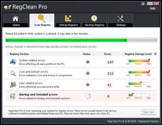 Regclean Pro 6.21.75.2601 + Serial Key Full Version Free Download latest