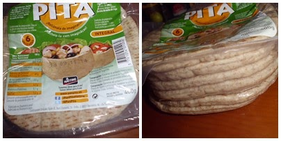 Pan de Pita Integral Hatting