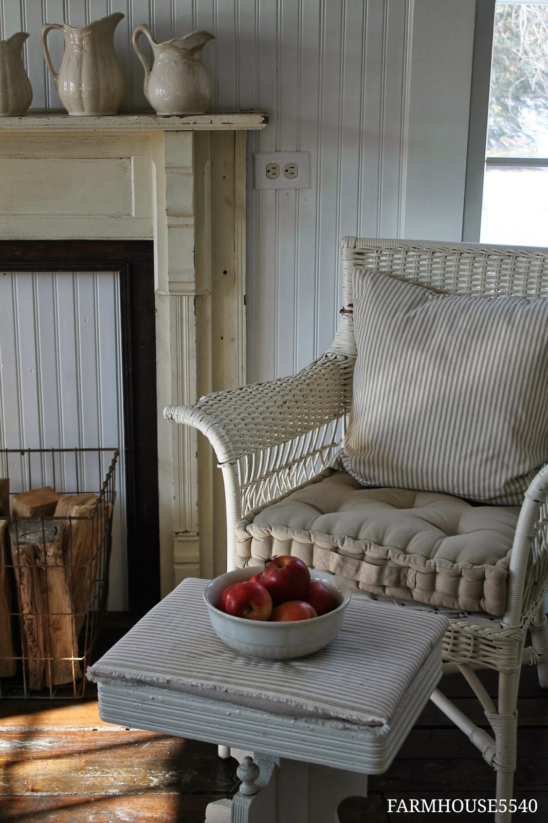 Tuesday 39 s farmhouse fancy wicker for Fancy farmhouse