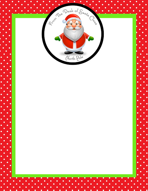 Go Back > Gallery For > Blank Letters From Santa