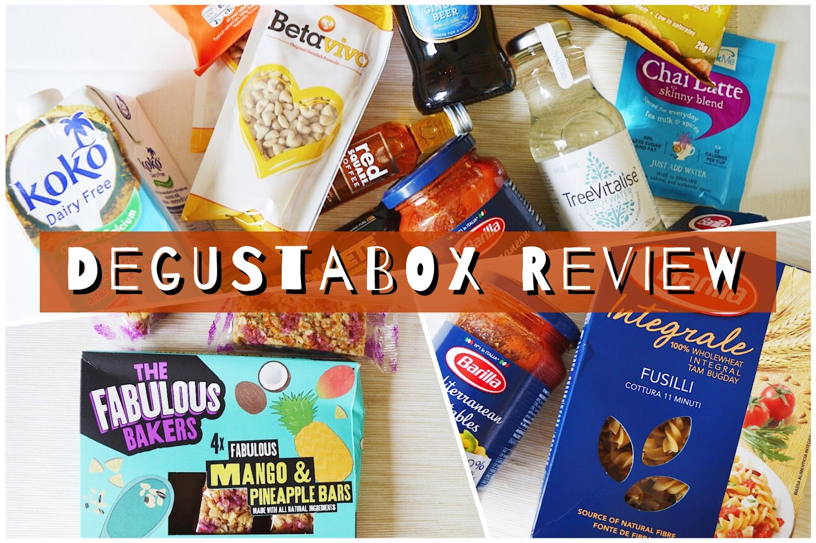 Degustabox Review of the December monthly subscription food box
