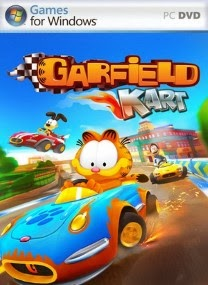 Garfield Kart PC Game Cover Garfield Kart SKIDROW