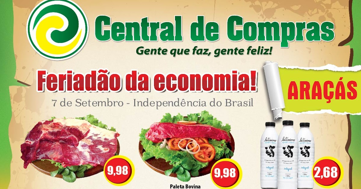 Rg marketing e propaganda folheto central de compras - Central de compras web ...