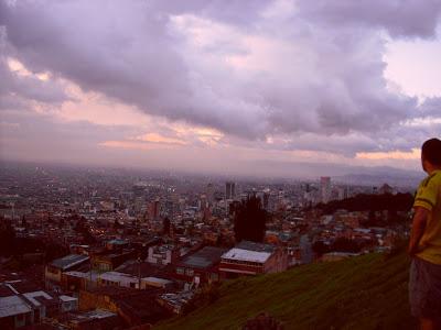 Sunset in Bogotá