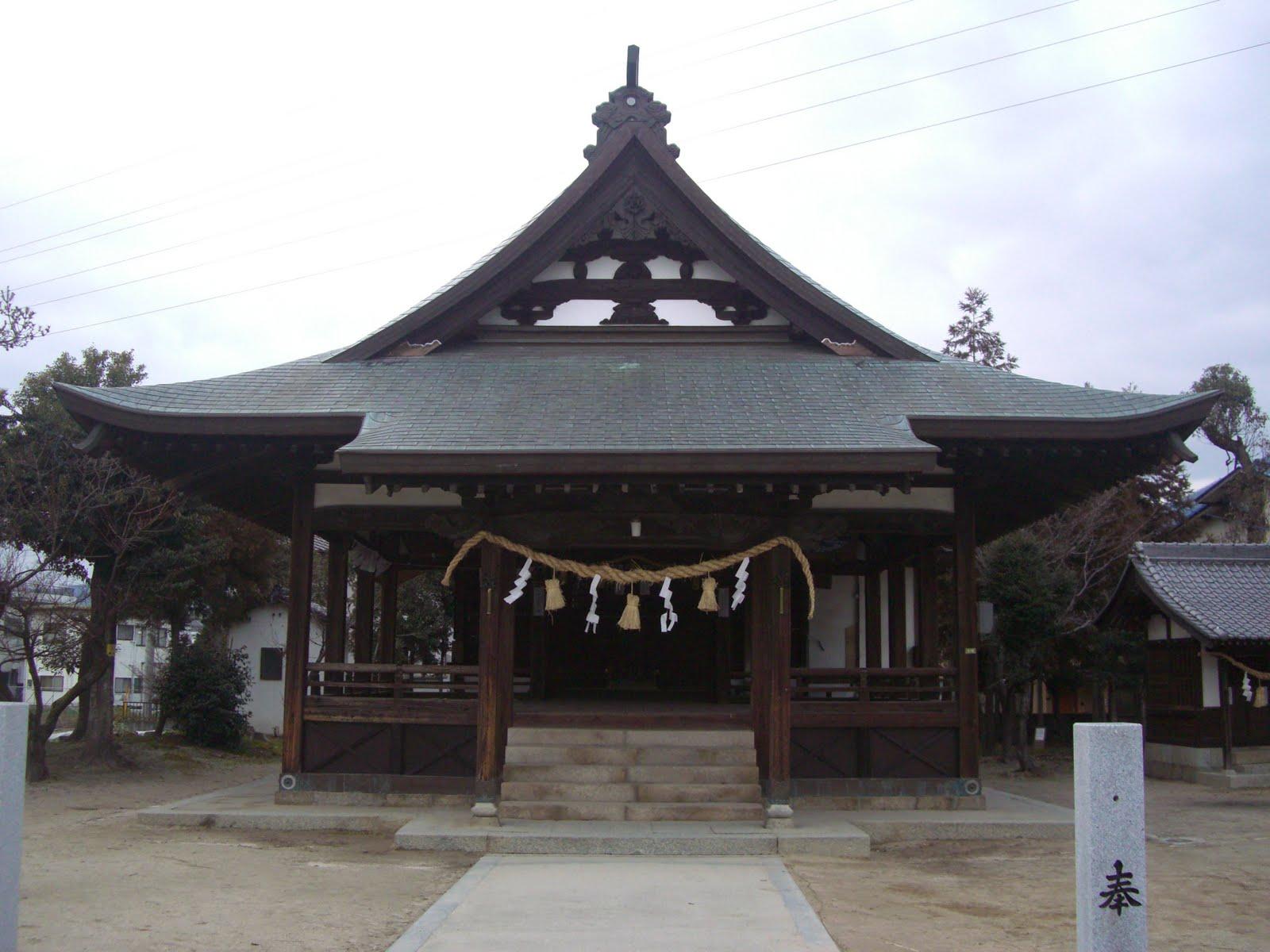 八幡宮の拝殿
