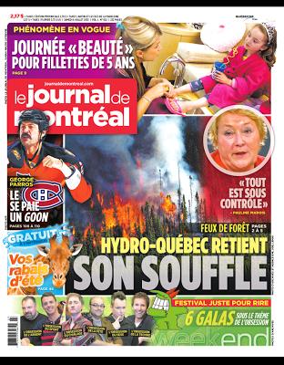 Journal de Montréal: Soins de beauté à 5 ans (ma réponse à l'article)