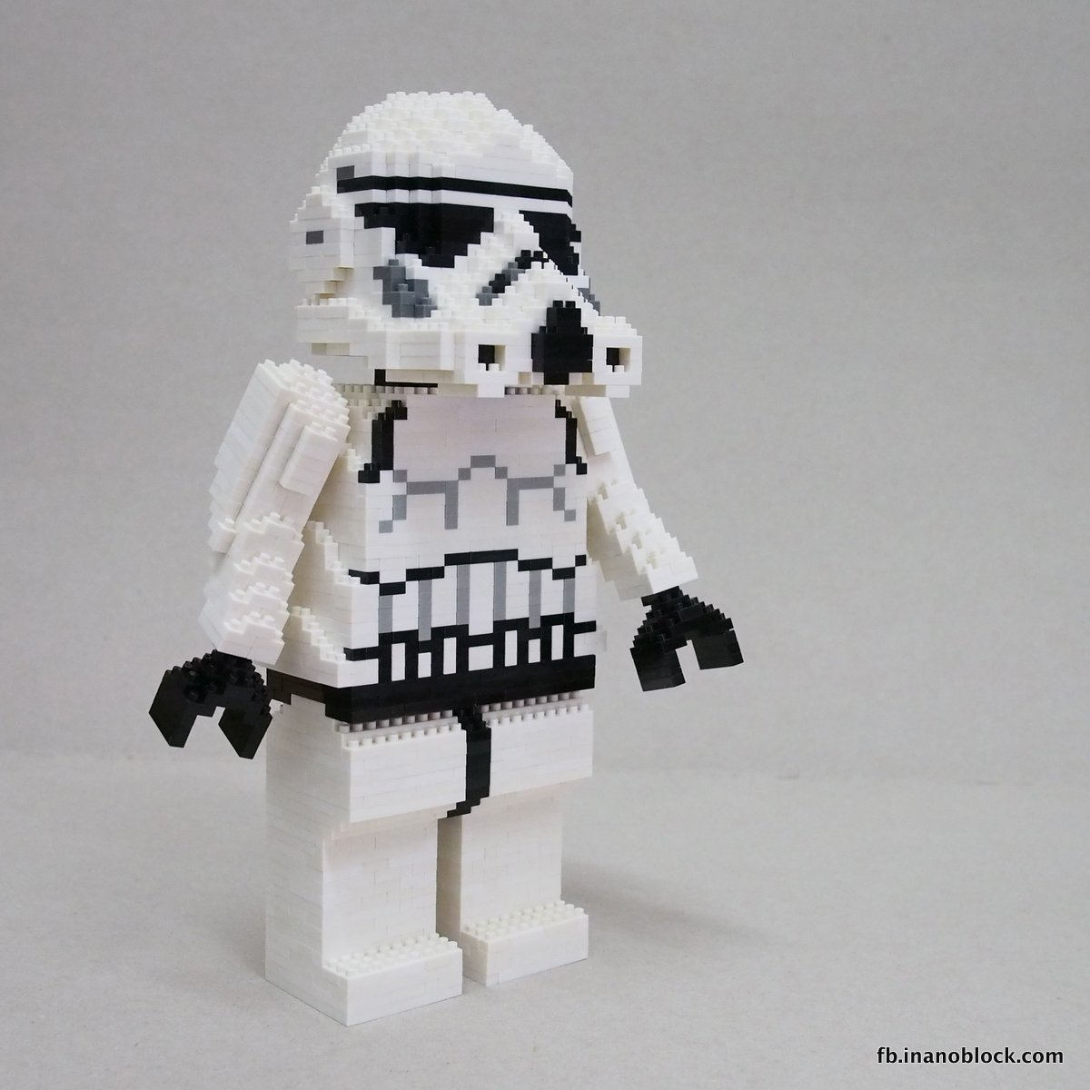 Christopher Tan Nanoblock Star Wars Stormtrooper Build Instructions