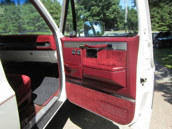 Original Chevy K5 Blazer Auto Restorationice