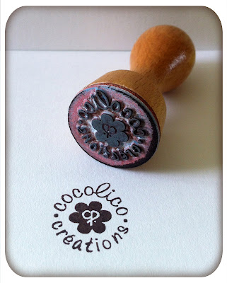 Cocolico creations un tampon personnalis - Tampon cuisine personnalise ...
