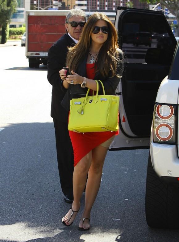 Kardashians With Their Respective Birkin Bags Bares A