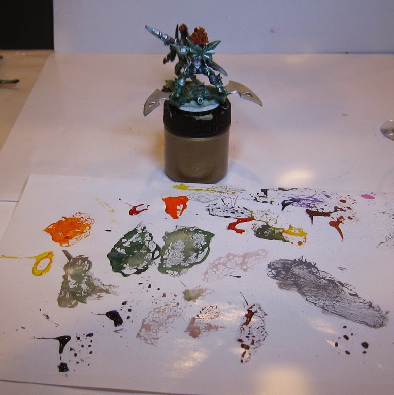 Miniature Painting Can You Glaze With Metallics
