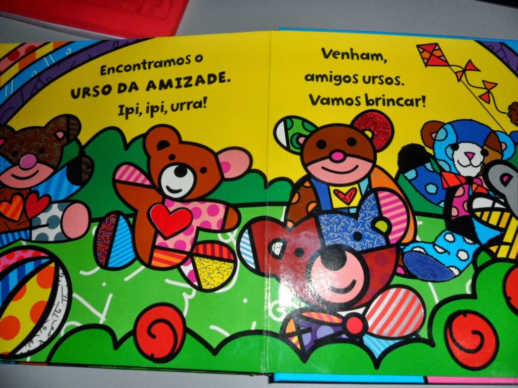 Well-known PROFESSORA CALU, ALFABETIZAÇÃO COM AMOR: Romero Britto e o Urso da  VG82