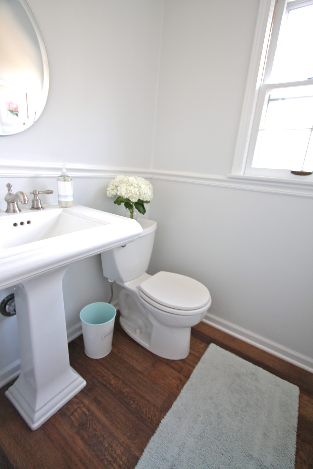 Diy bathroom remodel julie blanner - Half bath remodel ideas ...