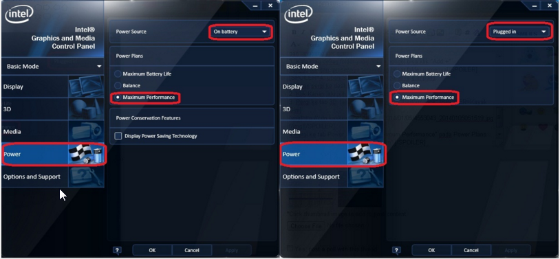 Mengatur setting performa IntelHD agar Maximal dalam bermain Game