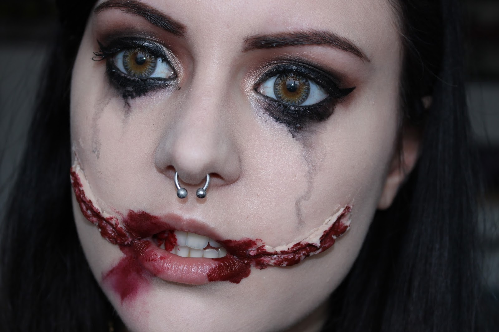 KITTENMOUSTACHE: Halloween: Chelsea Smile/Black Dahlia