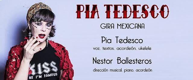PIA TEDESCO GIRA MEXICANA 2015
