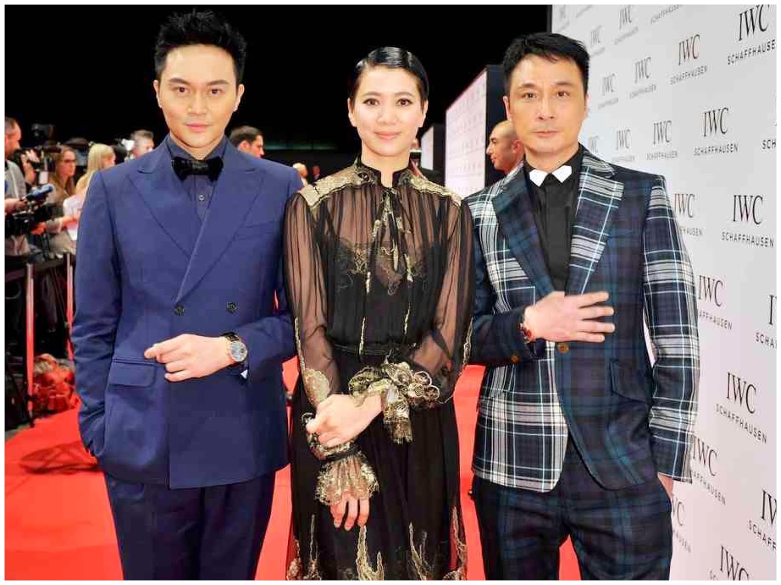 00O00 Menswear blog Francis Ng in Vivienne Westwood - IWC Schaffhausen Race Night Salon International de la Haute Horlogerie #SIHH 2013 Geneva