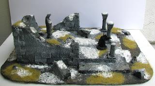 angmar makieta ruiny świątyni