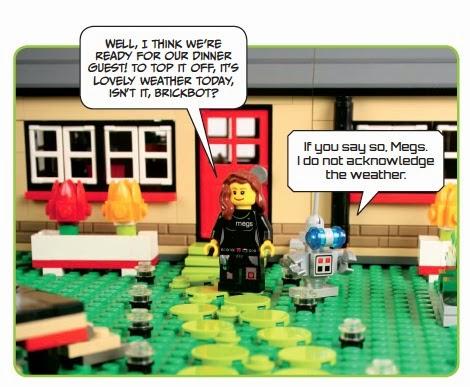 The Legology Robotic Realm Book Review The Lego Adventure Book Vol