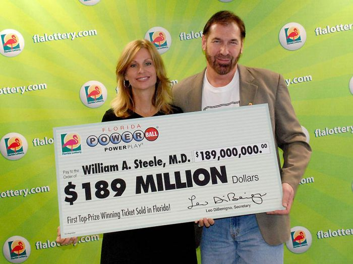 Lottery winners after