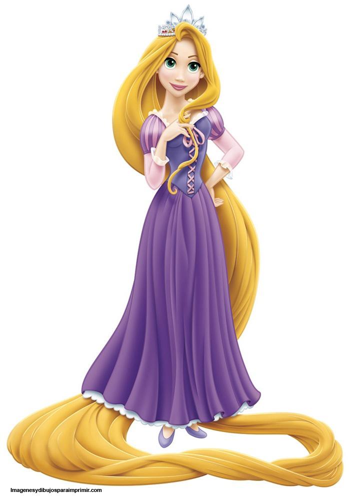 Dibujos De Rapunzel Para Imprimir