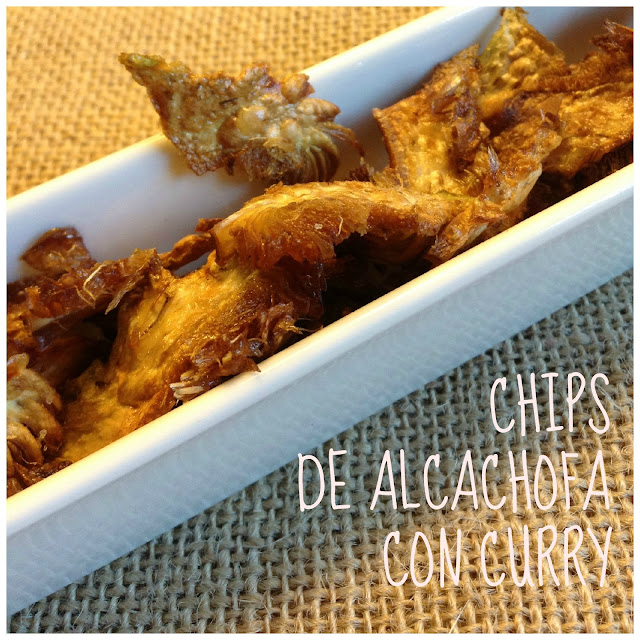 artichoke chips with curry