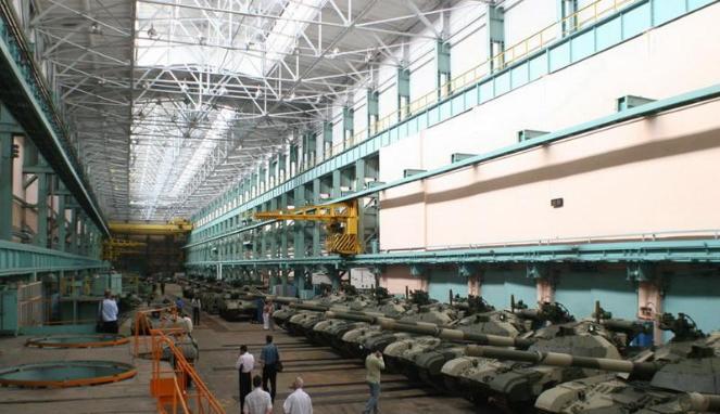 Pabrik MBT Bulat Ukraina