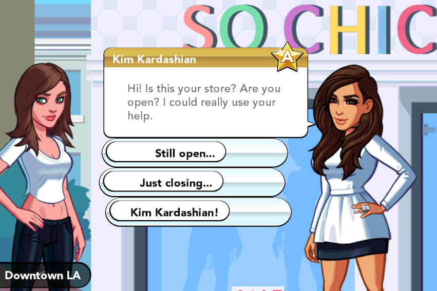 Kim Kardashian ios game