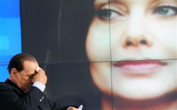 Silvio Berlusconi e Veronica Lario