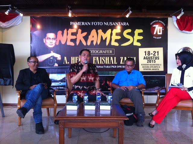 Helmy Faishal Zaini Pamerkan 70 Fotografi Nusantara
