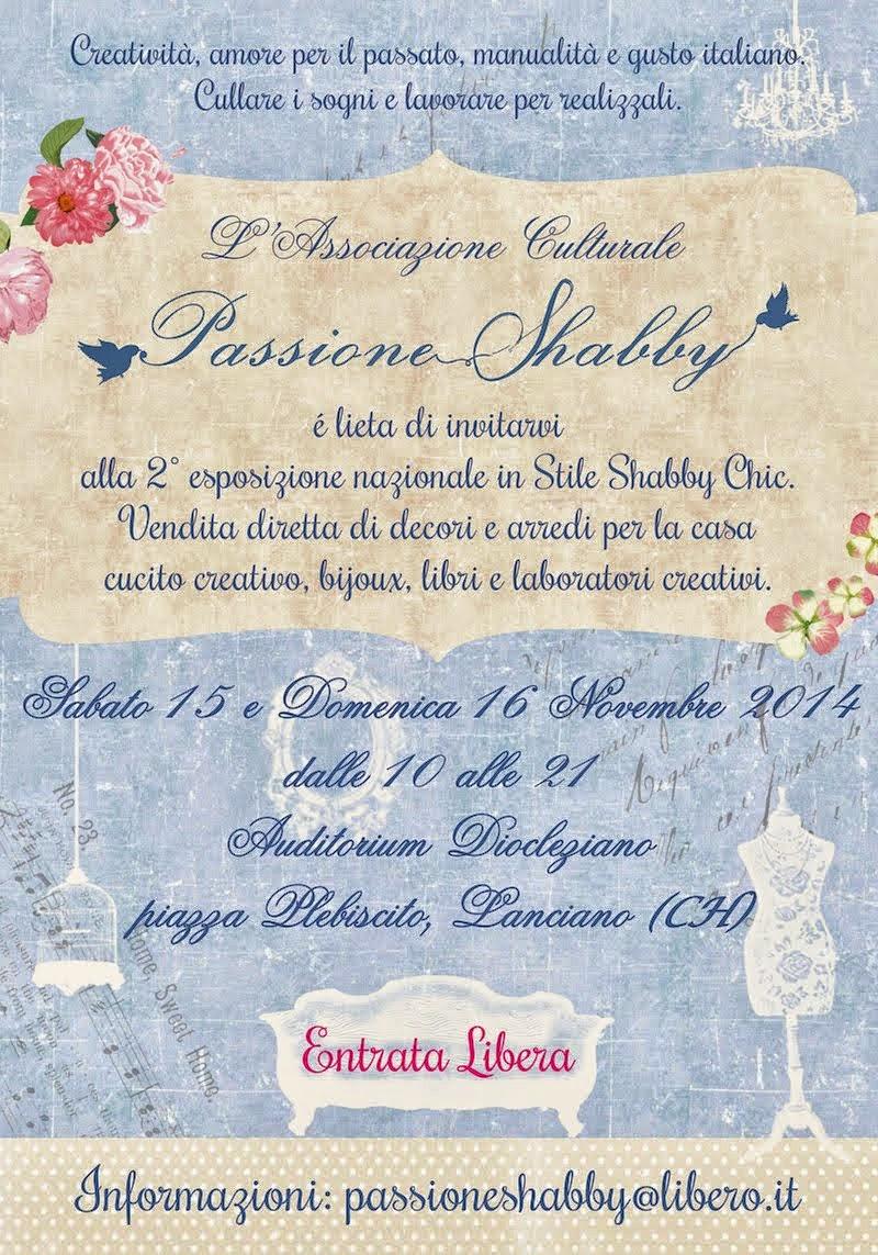 15 -16 novembre passione shabby Lanciano (ch)