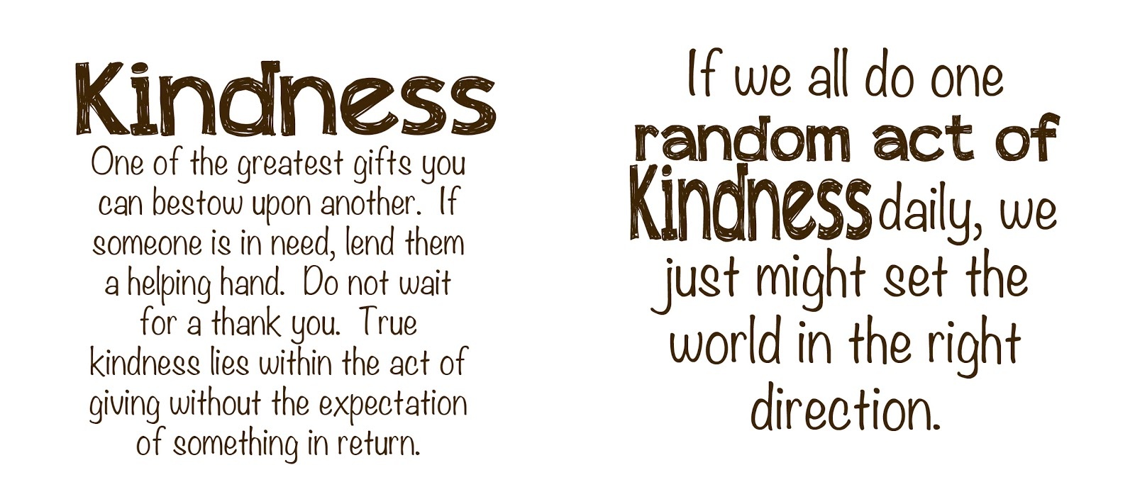 Quotes Kindness Shyloh Belnap Today On Good Things Utah Kindness Banner