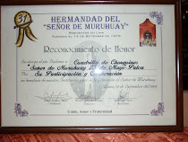 RECONOCIMIENTO DE HONOR A NUESTRA CHONGUINADA POR LA HERMANDAD SR DE MURUHUAY RESIDENTES EN LIMA