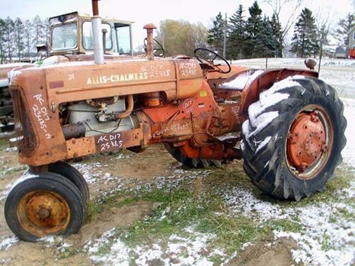Allis D17 tractor parts