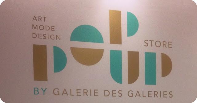 Pop up store/Galerie des Galerie