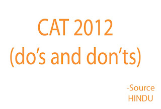 Secrets to Crack the CAT 2012 EXAM