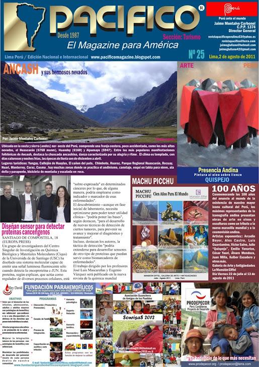 Revista Pacífico Nº 25 Turismo