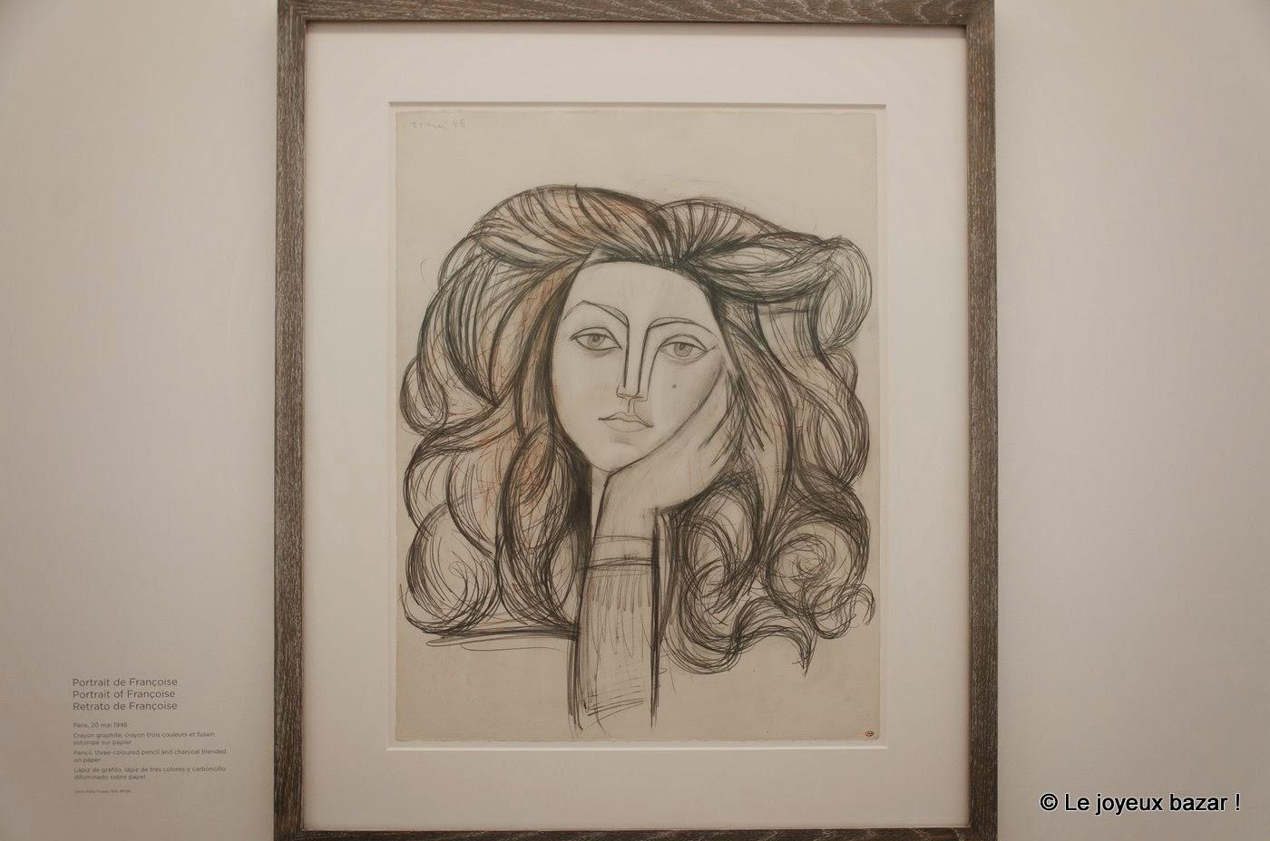 Musee Picasso - Paris - portrait de Francoise