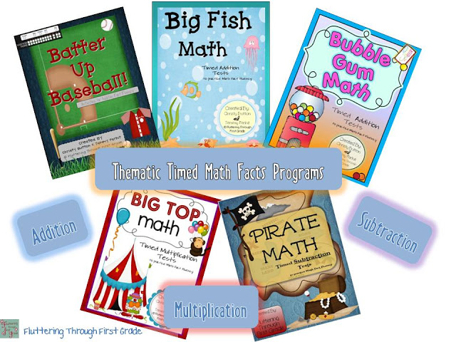 Fluttering Through First Grade: Throwback Thursday ~ Math Fact Fluency