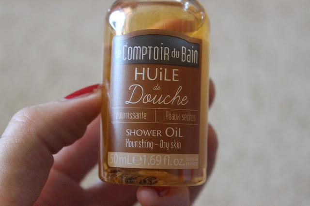 L'huile de douche nourrissante Le Comptoir du bain