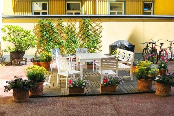 Jardim de apartamento
