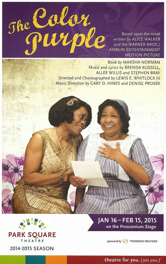 Cherry And Spoon The Color Purple At Park Square Theatre