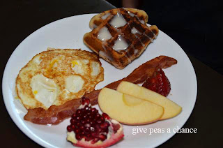Give Peas a Chance: Easy Cinnamon Roll Waffles