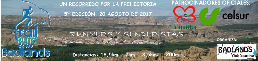 Trail Ruta de los Badlands