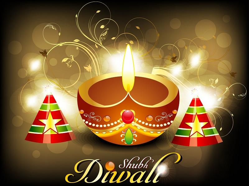 { Deepavali } Happy Diwali Greeting HD Wallpaper, SMS Messages In Hindi Engli...