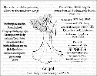 Our Daily Bread Designs - Stamps Angel Set