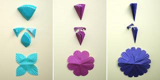 tipos de flores de forminhas de cupcake